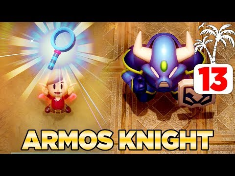 Getting The Magnifying Lens & Defeating Armos Knight Link's Awakening Switch - 100% Walkthrough 13