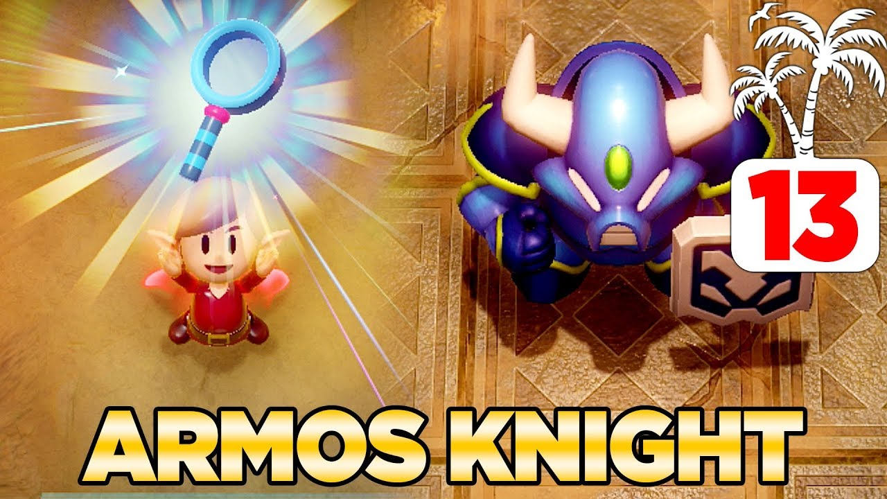 Download Getting the Magnifying Lens & Defeating Armos Knight Link's Awakening Switch - 100% Walkthrough 13