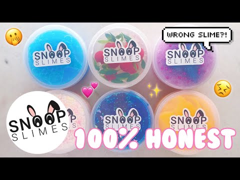 $100 SNOOPSLIMES FAMOUS SLIME SHOP REVIEW! WRONG SLIME?