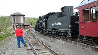 KLRs and the train