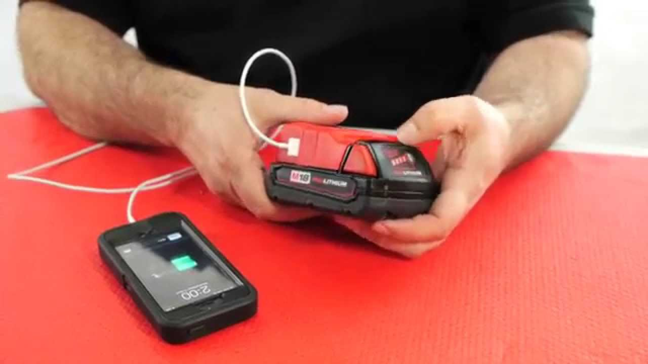 Milwaukee USB Battery Charger | Mr. Locksmith Video - YouTube