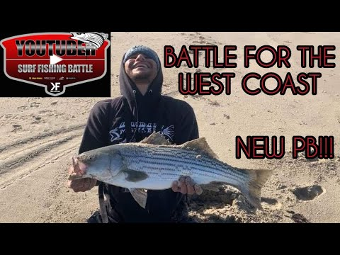 Youtuber Surf Fishing Tournament, Ultra Light Rod, NEW PB!!!