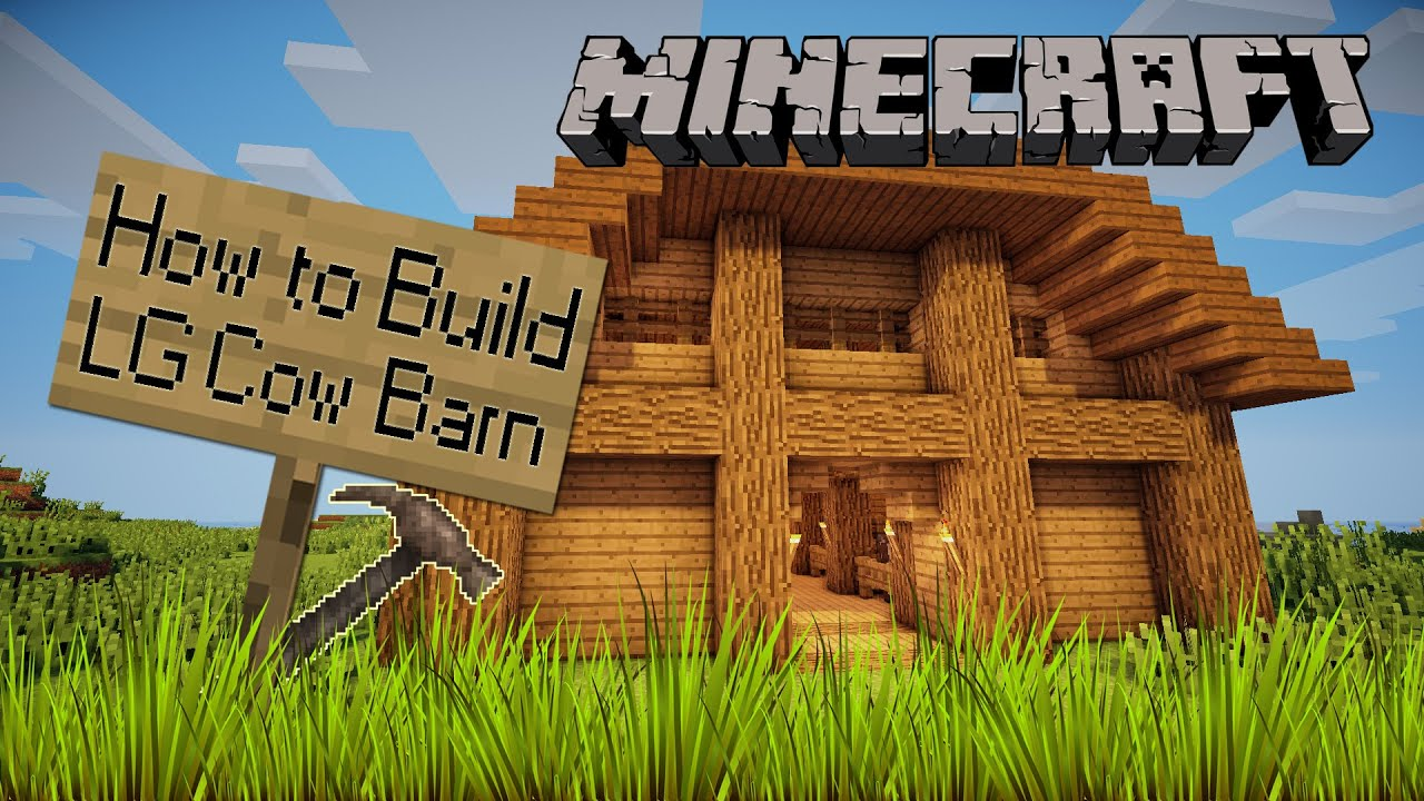 How To Build A Small Barn In Minecraft