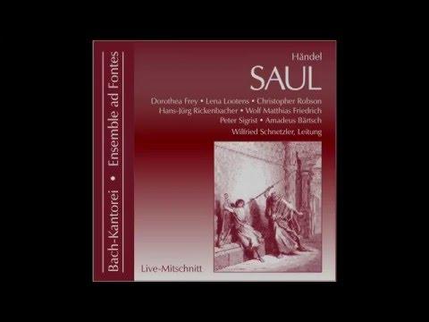 George Frideric Handel: SAUL, Oratorio HWV 53