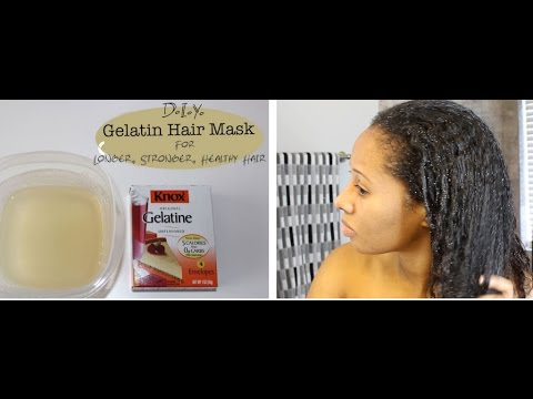 how to use gelatin for hair growth