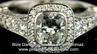 En Ucuz Pırlanta Tek taş yüzük fiyatları, pırlanta Tek taş yüzük modelleri, Roz Diamond 4