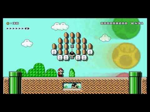 Super Mario Maker for Nintendo 3DS. M14-2. 2.ª medalla