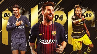 MESSI IF 94 !!! PACK OPENING Y FUT DRAFT | FIFA 18