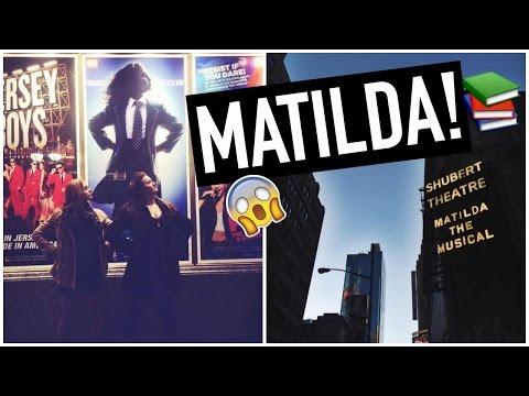 SCORING TICKETS TO MATILDA ON BROADWAY!! The Sisterhood Takes New York Day #6