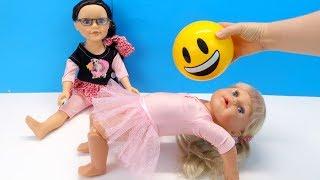 Куклы Пупсики НЕ ПОЛУЧАЕТСЯ МОСТИК, ГИМНАСТИКА ДЛЯ ДЕВОЧЕК Мультик #Бебибон Для детей