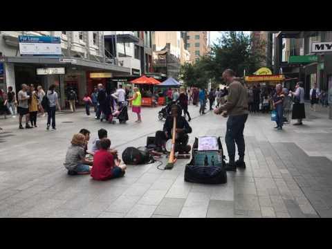 Rundle Mall city of Adelaide(15/04/2017)
