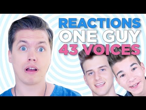 THIS PISSES ME OFF - Reacting to One Guy 43 Voices Reactions