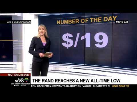 Number of the Day | R19 to the dollar - 03 April 2020