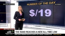 Number of the Day   R19 to the dollar - 03 April 2020