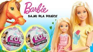Barbie  Adopcja zwierzaka LOL Surprise Fluffy Pets  Toys Land
