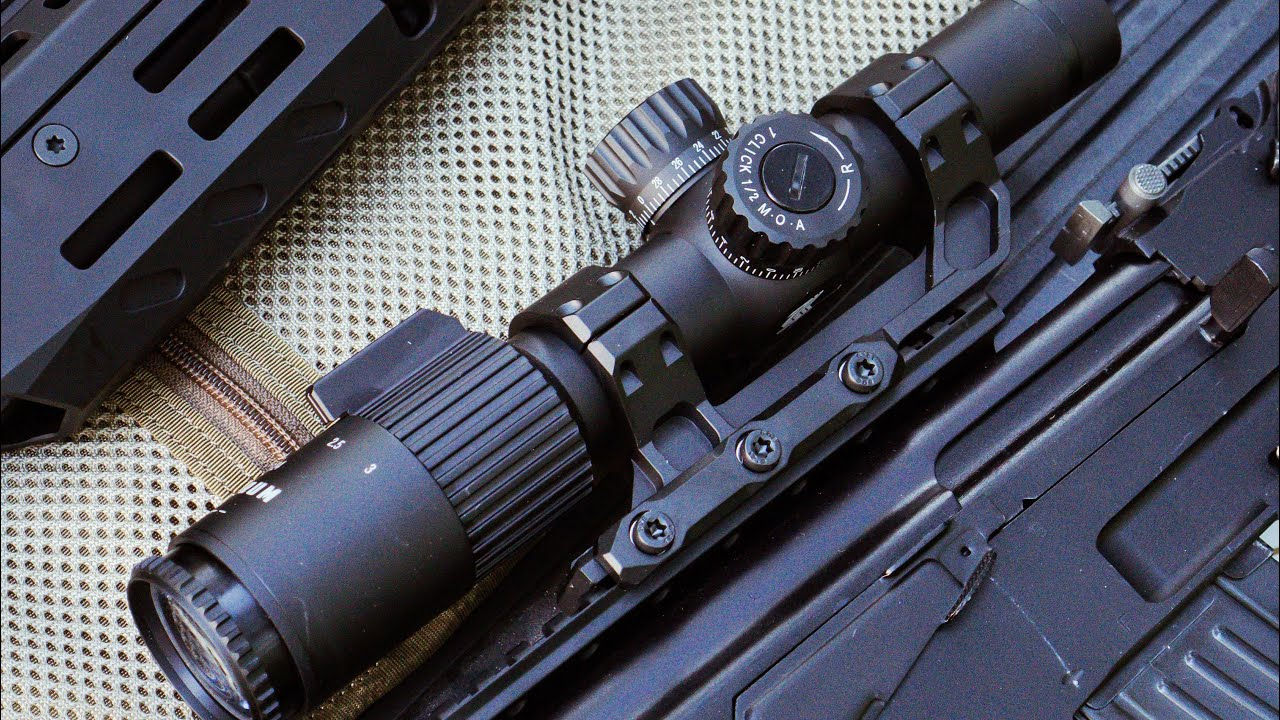 Monstrum G3 1-6x24 FFP Rifle Scope || MOA Reticle and Offset Cantilever Mount || Unboxing