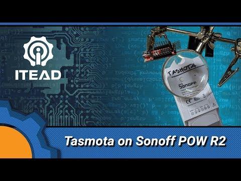 Flashing Tasmota on Sonoff POW R2 - Not Enough TECH