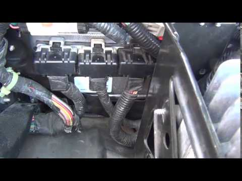 2003 jeep liberty pcm wiring wiring diagram  all computer resources remove  skim from ecm - youtube