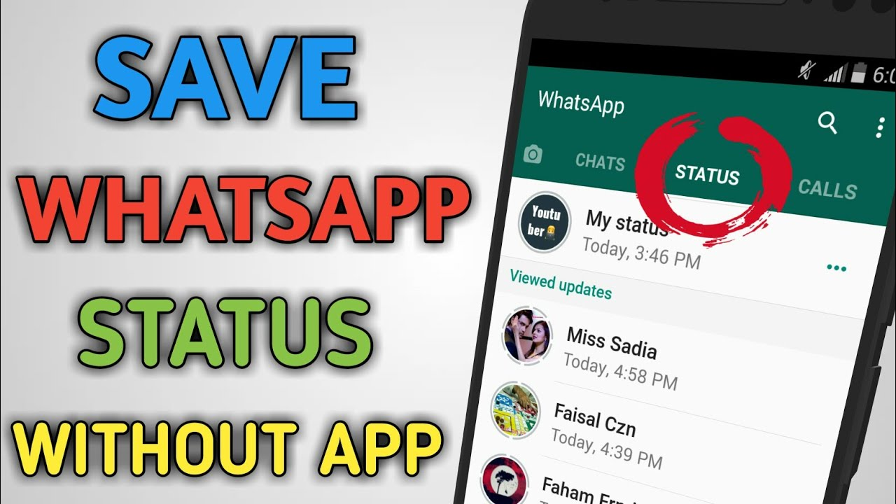 Download Whatsapp Status Video Without any App | Save ...
