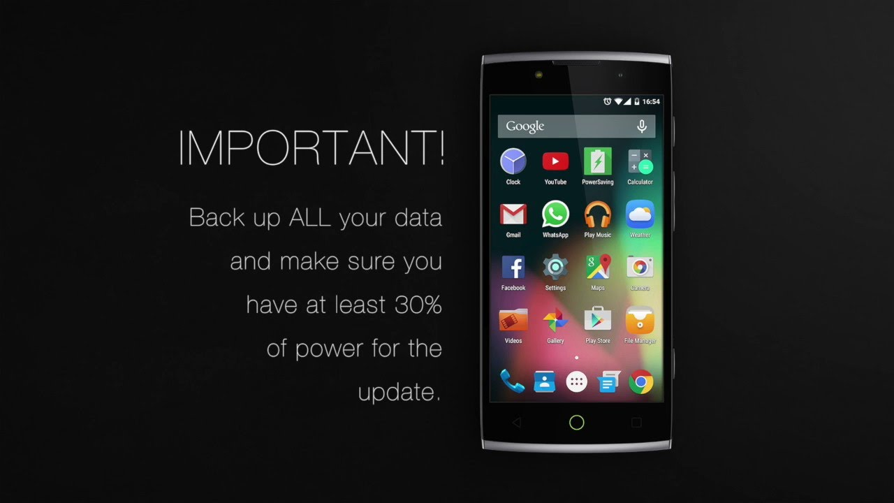 Alcatel firmware upgrade