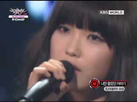 [Music Bank K-Chart] IU - The Story Only I didn't Know (2011.02.18)
