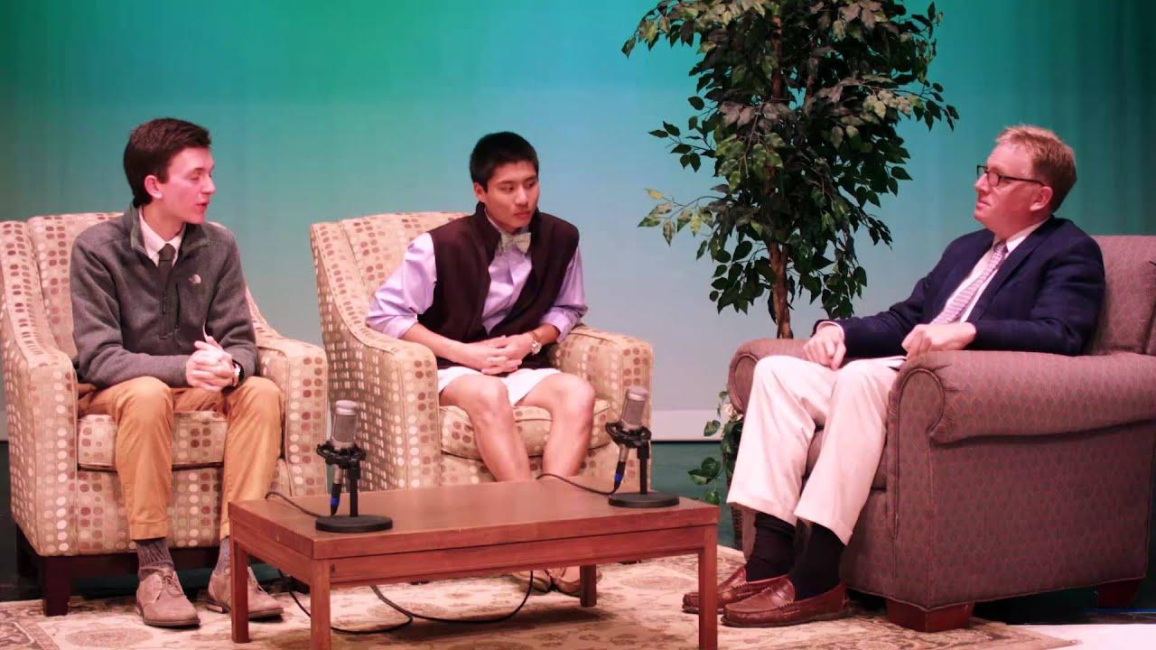 College Guidance Spotlight Kiffen Loomis 16 & Thomas Clarity 16