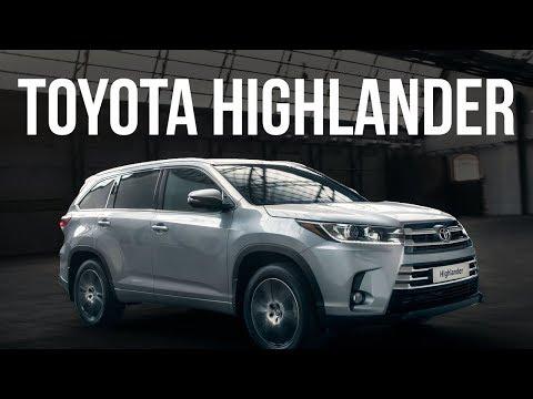 Toyota Highlander XU50 (рестайлінг) Внедорожник