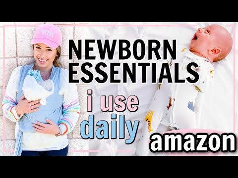NEWBORN ESSENTIALS! BABY PRODUCTS I USE DAILY! | Alexandra Beuter