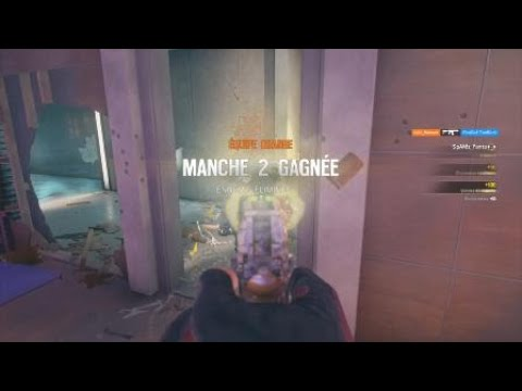 Rainbow Six Siege - PS4 - Ranked - Retournement situation plante, cover.