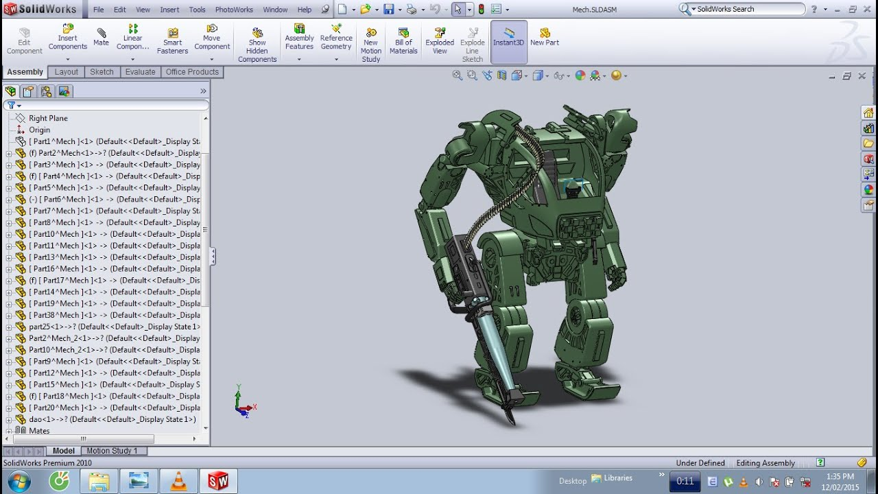 amp suit in avatar film by solidworks amp suit in avatar film by solidworks