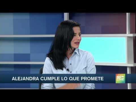 Alejandra Omaña estará en Soho