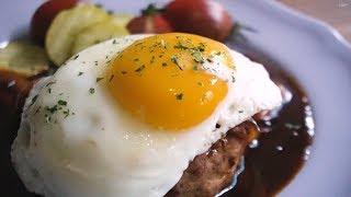 함박스테이크 만들기 Hamburg steak recip…
