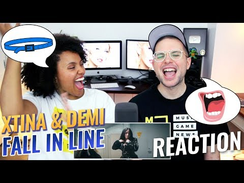 Christina Aguilera - Fall In Line (ft. Demi Lovato) | REACTION