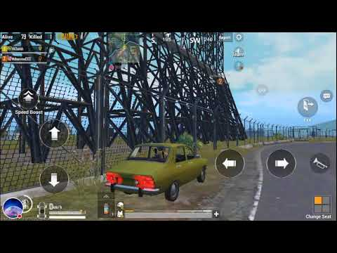 PUBG MOBILE  pushto . Duo with stranger . No health items . Stressful ending