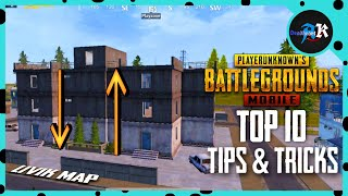 Top 10 tips and tricks in livik map pubg mobile || Deadheart AK Gaming-