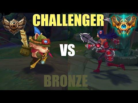 Challenger vs Bronze - BakaPrase ft. Jacks