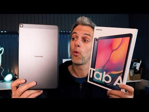 Samsung Galaxy Tab A - Le Test