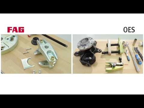 FAG Radlager Reparaturlösung vs. OES Reparatur