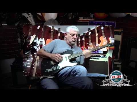 VictoryGGW.com Bill Nash T-63 Black Tele / Rivera Venus 6