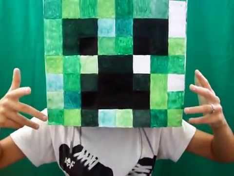 Бумажный Minecraft: Огромная