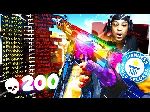 My *NEW* Most Kills in Black Ops Cold War.. (NUKETOWN |