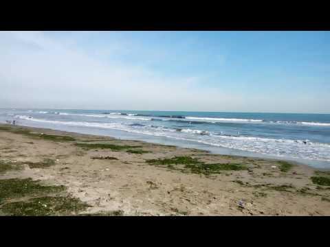 Sottomarina Chioggia mare spiaggia d'inverno