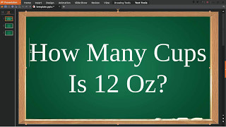 How Many Cups Oz