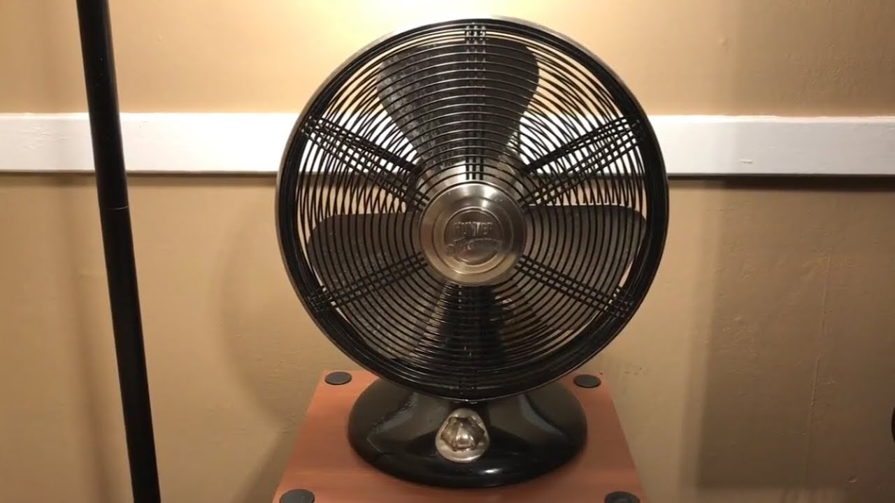 Hunter Rockefeller Table Fan 12 I Remake