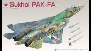 KEREN Inilah Jet Tempur Siluman Yang Paling Canggih Sukhoi T 50 PAK FA