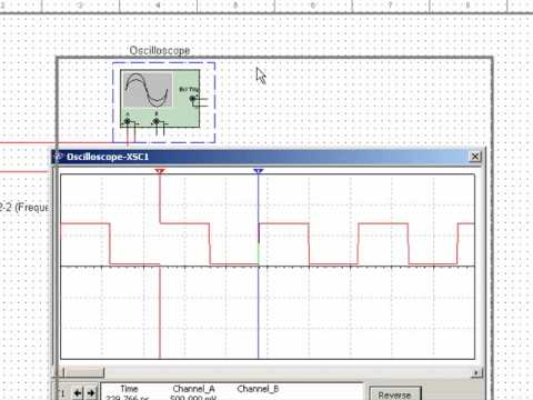 Digital Electronics: 3) Measure Amplitude and Period on an Oscilloscope