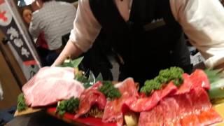 2017年3月6日。秋田牛14800円1kg。2人で食す。