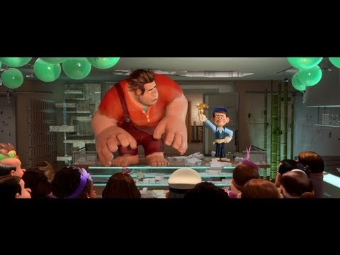 Wreck-It Ralph trailers