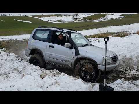 Salisbury Plains 4x4 after snow storm 2018 [HD]
