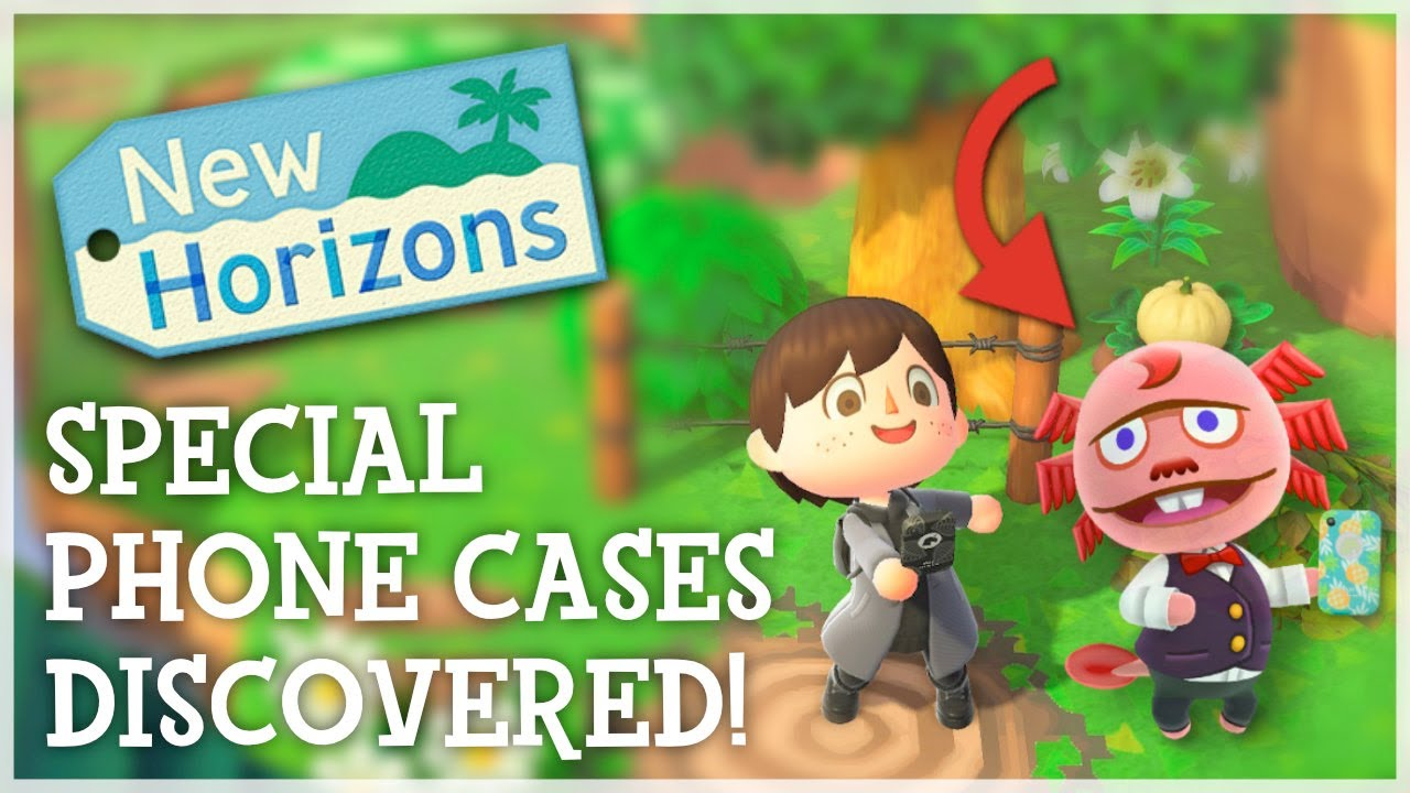 Animal Crossing New Horizons - SPECIAL PHONE CASES DISCOVERED (Missing Characters Datamine)
